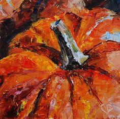 DPW Fine Art Friendly Auctions - The Great Pumpkin by Carol DeMumbrum— Happy Fall!