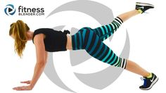 37 Minute Fat Burning HIIT Cardio Workout - No Equipment