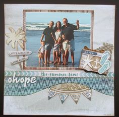 Ohope - Kaisercraft Sandy Toes