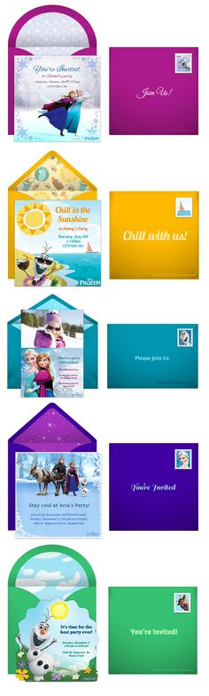 When planning a kid's Frozen themed birthday party, you might be wishing for your very own Sven to help out. But one task that doesn't need to be complicated is sending invitations. Punchbowl has the perfect Frozen online invitations to set the tone for your party. http://www.punchbowl.com/disney/express/?utm_source=Pinterest&utm_medium=2.5P