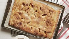 Peach Sheet Pan Pie - Recipe - FineCooking
