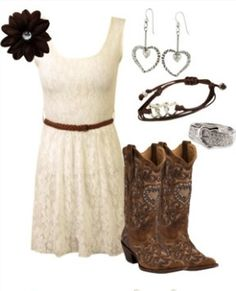 Love❤ this country outfit!~*