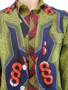 www.cewax aime les vêtements hommes ethniques, Afro tendance, Ethno tribal Men's fashion, african prints fashion - Henk Koers collection african textiles by henk.koers, via Flickr