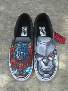 Design Your Own Custom Painted Vans Converse or Toms by DBDrea, $150.00