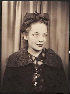 +~Vintage Photo Booth Picture~+  Vintage Siren