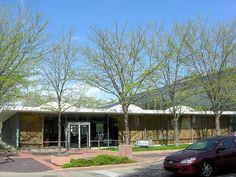 Former Irwin Union Bank, now Irwin Conference Center | 1954 | Eero Saarinen | Columbus, Indiana