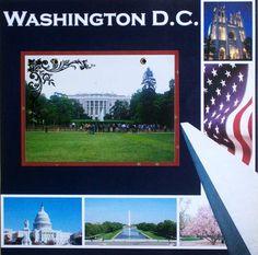 Layout: Washington DC 2012 - Page 33 - White House Vacation Scrapbook, School Scrapbook, Birthday Scrapbook, Wedding Scrapbook, Disney Scrapbook, Scrapbook Cards, Scrapbook Examples, Scrapbook Sketches, Scrapbook Page Layouts
