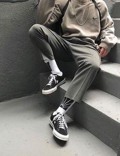 Ideas Sport Men Style Menswear Moda Masculina For 2019 Look Fashion, Mens Fashion, Fashion Outfits, Fashion Clothes, Men Clothes, Fashion Styles, Clothes Swag, Grunge Clothes, Fashion Photo