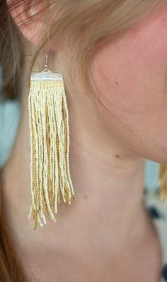 16 Beautiful DIY Earring How-To's,  Go To www.likegossip.com to get more Gossip News!