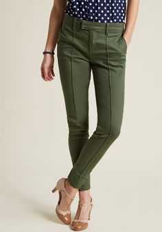 These trousers are so versatile and the color is perfect for Fall!