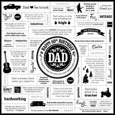 Deja Engel Design | Happy 60th Birthday Dad | www.dejaengel.com