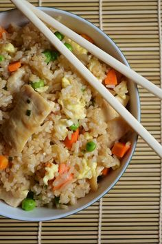 Chicken Fried Rice- can pack this full with all sorts of veggies the youngsters won't even realise their consuming.