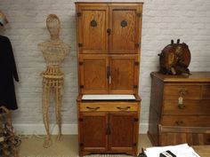 BarnAntique.co.uk :: Maidsaver Kitchen Cabinet by Lusty