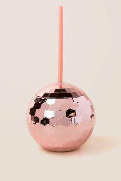 Rose Gold Disco Ball Tumbler