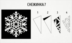 20 fantastic paper snowflake designs you can make with your kids Paper Snowflake Designs, Paper Snowflakes, Paper Folding Crafts, Paper Crafts, Blog Names, Art School, I Card, Origami, Arts And Crafts