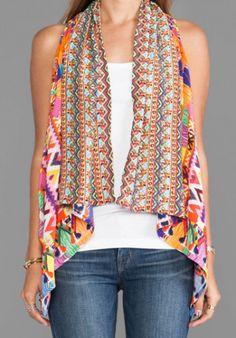 Camilla Worry Dolly Waistcoat Vest in Multi from REVOLVEclothing.com