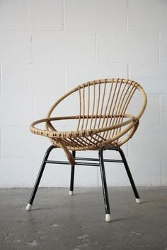 ROHE NOORWOLDE BAMBOO CHAIR