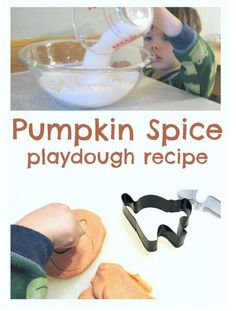 Sensory (and Seasonal) Activity of the Week: No Cook Pumpkin Pie Playdough-repinned by @PediaStaff – Please Visit ht.ly/63sNtfor all our pediatric therapy pins