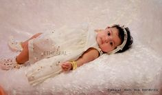 Baby Girl Dresses, Baby Dress, Flower Girl Dresses, Christening Photography, Saree Wedding, Wedding Dresses, Baby Girl Baptism, Naming Ceremony, Baptism Ideas