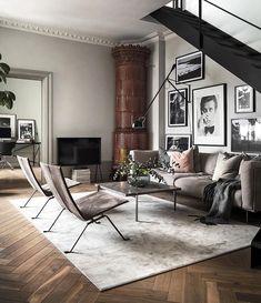 38 Scandinavian Living Room Design for Best Home Decoration Bedroom Furniture Design, Small Living Rooms, Minimalist Living Room, Living Room Scandinavian, House Interior, Interior Design, Living Decor, Furniture Design, Scandinavian Design Living Room