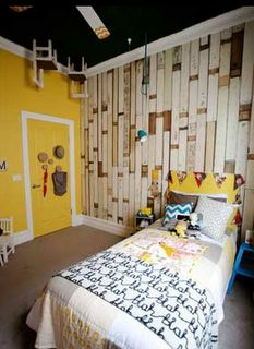Another angle of Dale and Sophie's kids room from THE BLOCK