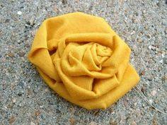 Fabric Rose tutorial