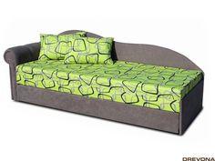 Pohovka ľavá zeleno-šedá FUN Lava, Lounge, Couch, Fun, Furniture, Home Decor, Chair, Airport Lounge, Homemade Home Decor