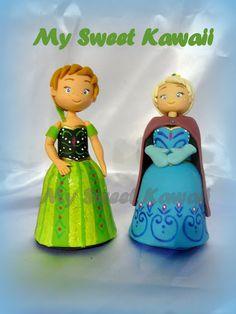 ... My Sweet Kawaii ... Chibi Doll in porcellana fredda