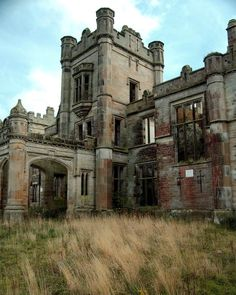 Abandoned building in Scotland.