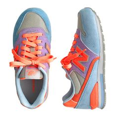 It's a fact: These iconic kicks—brought to us from the principals of old-school cool—will make all their outfits instantly groovier. Famous for its extended and wide-width sizes that can fit any foot (especially little ones), New Balance has been beloved by sneakerheads old and young since 1906. This iconic style is known for its durable suede construction and sturdy rubber soles.  <ul><li>Suede, nylon upper.</li><li>Cotton lining.</li><li>Rubber sole.</li><li>Import.</li></ul>