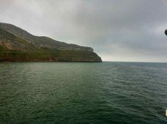 View of the Great Orme from Llandudno pier