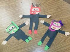Scuba divers preschool craft