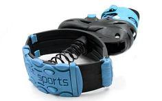Ботинки на пружинах Фитнес джамперы Kangoo Jumps  (PL, PVC, р-р 35-42, голубой) - Массажный мир в Курске
