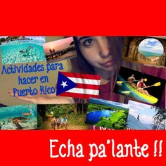 Hay tantas actividades divertidas que hacer en Puerto Rico para los turistas. Visite Puerto Rico para ver la cultura, la naturaleza, deportes, historia y mas de este pais de habla espanol. No te arrepentiras. :)