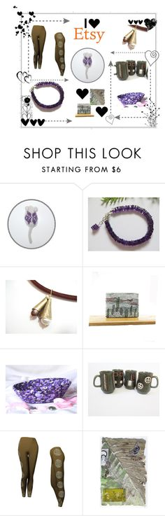 """Purple and Friends"" by fibernique ❤ liked on Polyvore featuring CO"