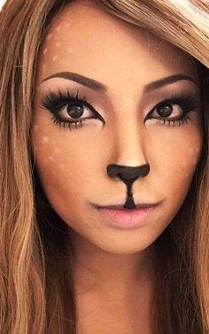beautiful and cute halloween makeup