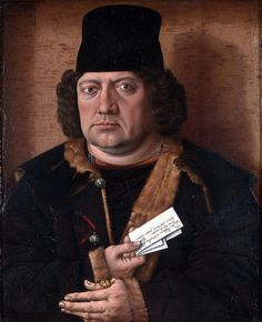 https://flic.kr/p/qwNWeM | Portrait of Alexander Mornauer | Full title: Portrait of Alexander Mornauer Artist: Master of the Mornauer Portrait Date made: about 1464-88 picture.library@nationalgallery.co.uk Copyright © The National Gallery, London
