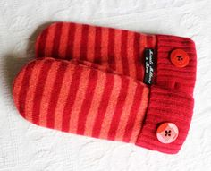 wool mittens sweater mittens womens mittens by miraclemittens