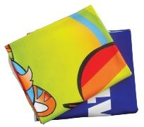 Fleece blanket with full color print (PGIFTSMPIC102) - Perkal Corporate Gifts