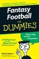 Fantasy Football For Dummies (0470125071) cover image