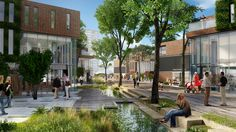 Curtin University Masterplan : AECOM and Donaldson and Warn architects