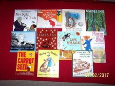 Lot 13 FIAR Homeschool Five in a row Books Volume 2 literature Ages 4-8