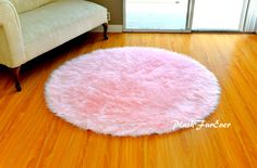round nursery rugs cievi home turesque design exquisite pink rug baby luxury faux fur throw area gray and ivory safavieh grey fluffy carpet tesco jute blanket yellow kitchen Reading Nook Tent, Nursery Area Rug, Girls Canopy, Girls Rugs, Dry Carpet Cleaning, Faux Fur Rug, Circle Rug, Living Room Carpet, Carpet Design