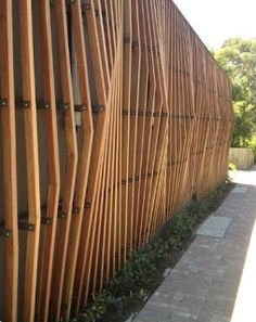 38 trendy exterior wood cladding facades wooden trendy exterior wood cladding facades wooden houses exteriorCreative Wooden Fence Home Ideas Backyard best of Designs Exterior Creative Wooden Fence Home Ideas Backyard best of Designs Exterior Timber Screens, Timber Slats, Timber Cladding, Cladding Ideas, Fence Slats, Privacy Fences, Fence Panels, External Wall Cladding, Backyard Privacy