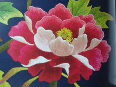 In progress: peony embroidery « WormSpit