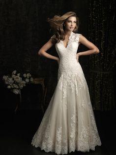 vestido de noiva linha a ou evasê