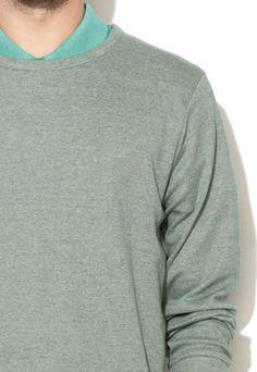Greystone Bluza sport verde melange Barbati