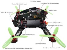 ARRIS X-Speed FPV280 Racing Drone BNF ARRIS X-Speed 280 FPV Racing Drone BNF [MH-AR-XSP280-BNF] - $199.00 :