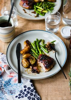 Flavorful Rosemary Balsamic Chicken Sheet Pan Dinner with Potatoes and Asparagus