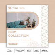 Social Media Banner, Social Media Design, Instagram Banner, Instagram Posts, Blank Poster, Logos Retro, Instagram Post Template, Banner Template, Flyer Design